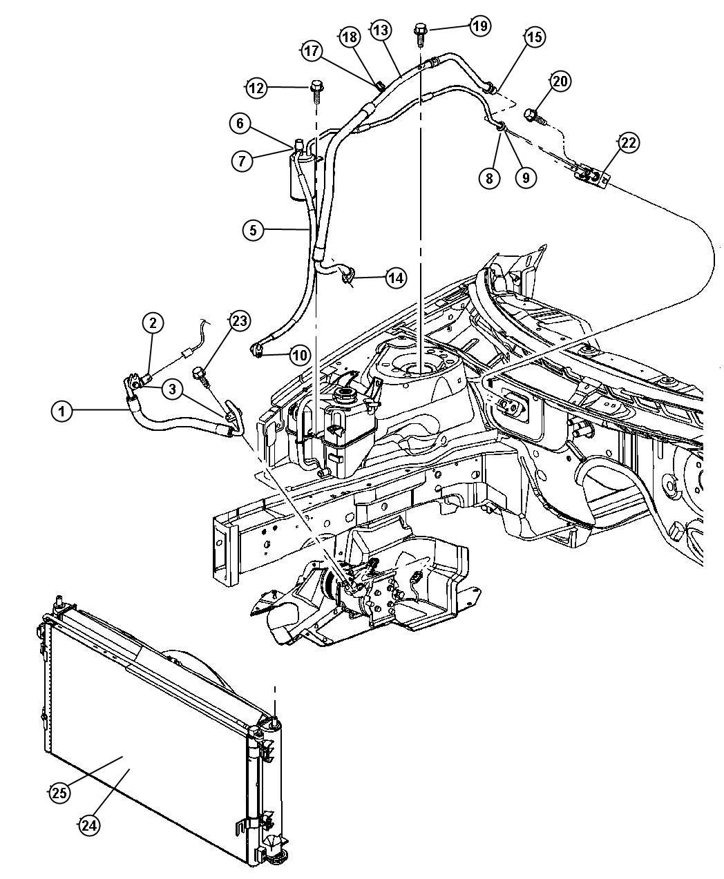 2001 chrysler sebring ac diagram