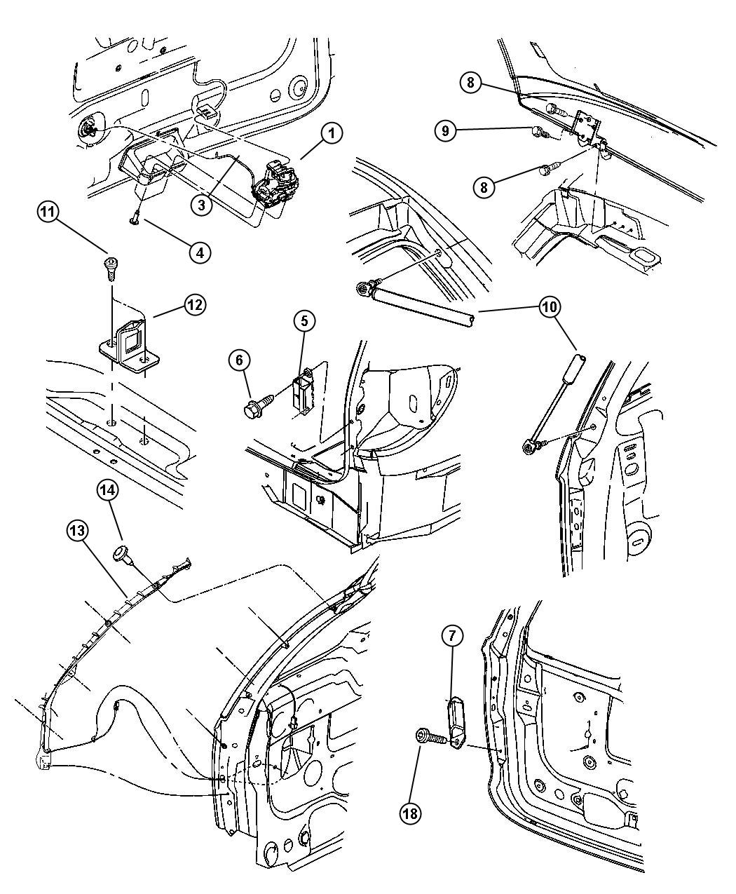 chrysler town country liftgate parts diagram  chrysler