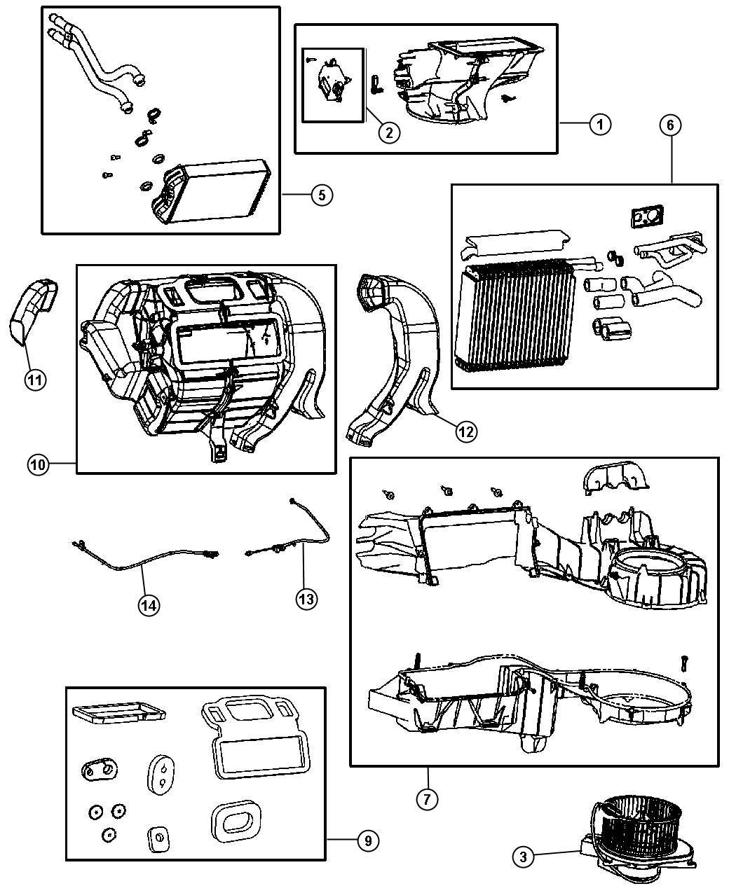2006 Chrysler Pt Cruiser Tube  Drain  Heater  Engine  Plumbing