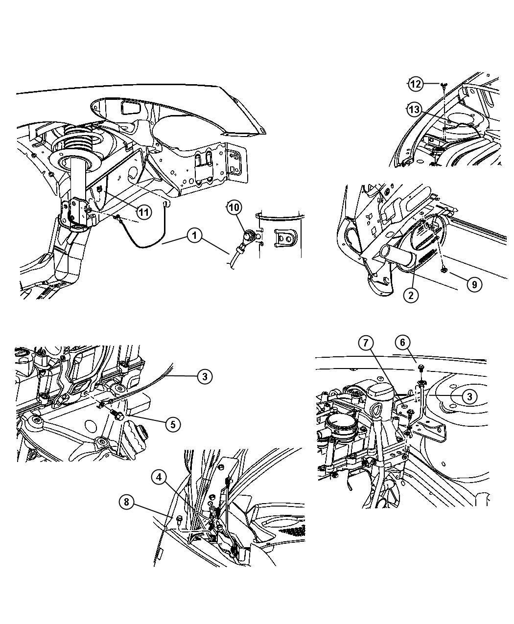 2001 Chrysler Pt Cruiser Wiring Diagram