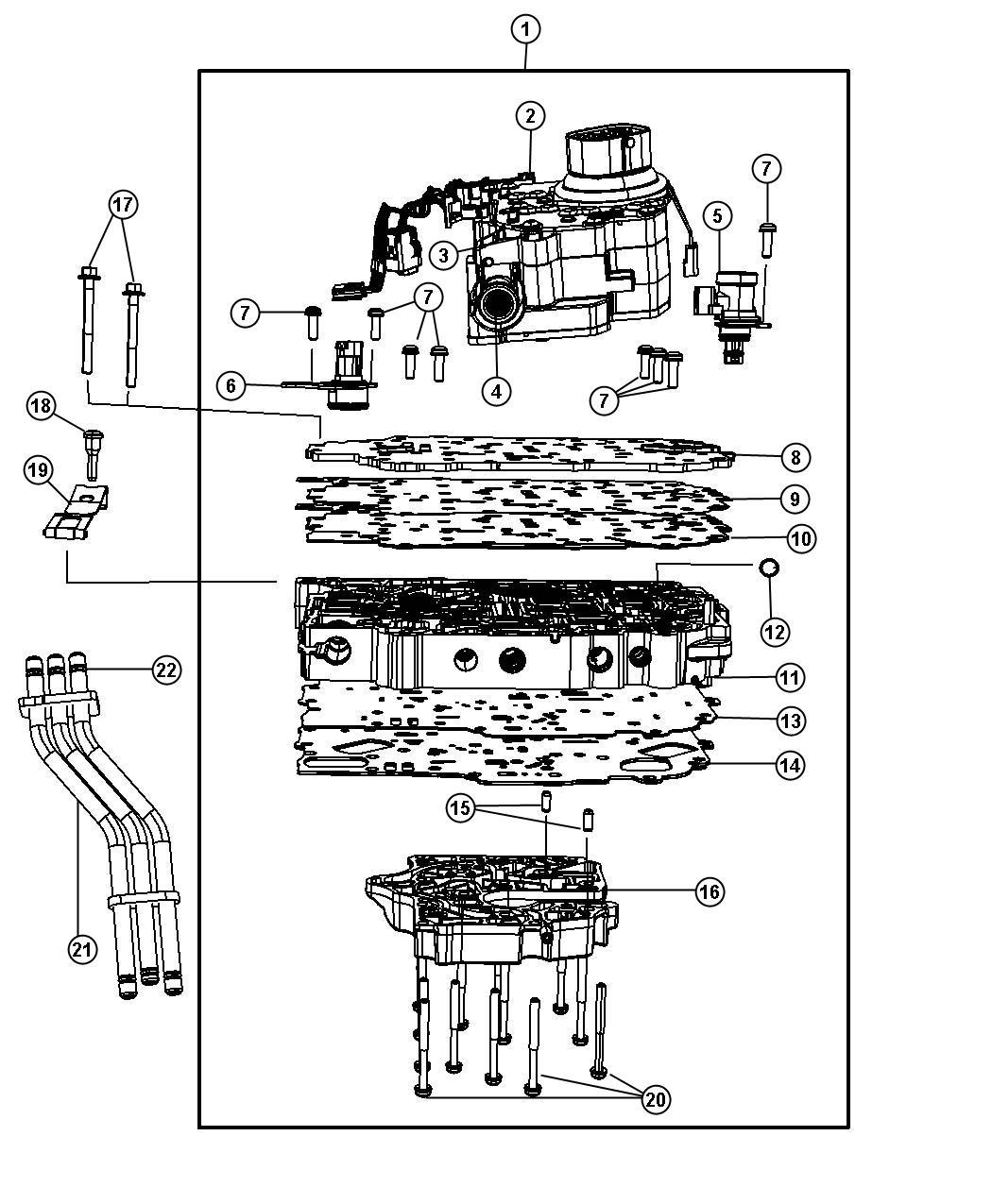 62te transmission sensors