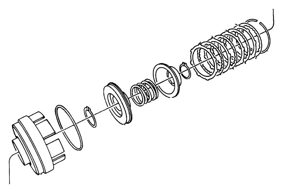 Chrysler Grand Voyager Retainer  Transmission Input Clutch