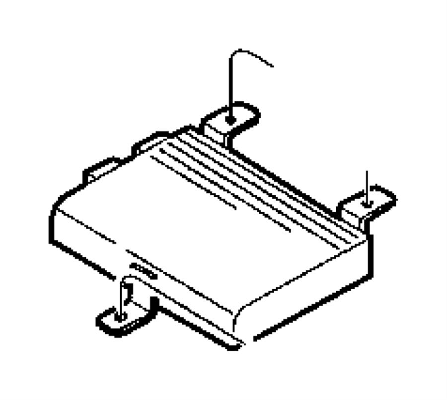 1999 chrysler sebring amplifier radio speakers infinity. Black Bedroom Furniture Sets. Home Design Ideas