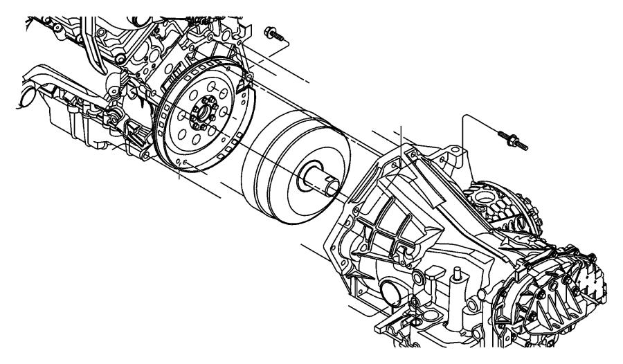 Chrysler Concorde Flexplate  Plate  Torque Converter Drive  Automatic Transmission