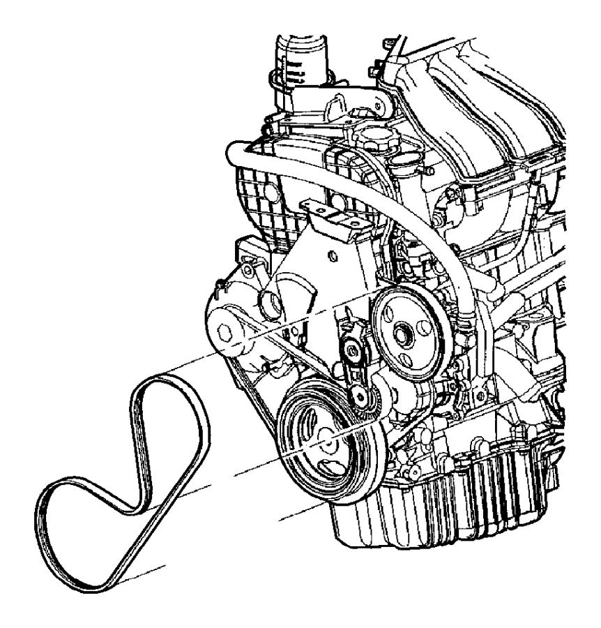 04668241ae Chrysler Belt Alternator Drive Ulev