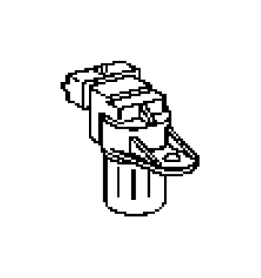 Chrysler PT Cruiser Sensor. Camshaft. Engine, Sensors