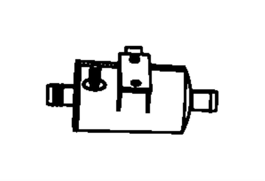 2007 chrysler sebring filter  fuel vapor vent  canister