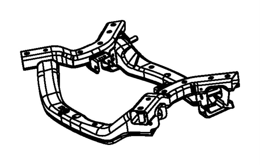 2016 Chrysler 300 Crossmember  Front Suspension  Frame
